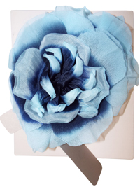 Jacques V3RT Navy & Blue Open Full Flower Corsage