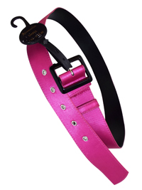 M0NS00N Accessorize CERISE Contrast Buckle Belt - Size Small to Large
