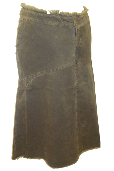Business Bump OLIVE Corduroy Maternity Skirt - Size 8 to 20