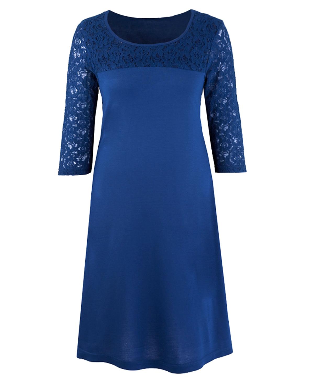 Wholesale Plus Size Clothing from Marisota - - Mar1sota NAVY Lace ...