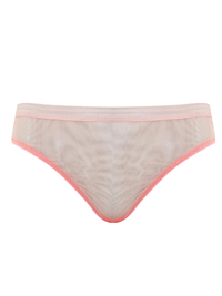 T0PSH0P PINK Ombre Mesh Bikini Briefs - Size 6 to 16