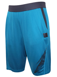 Mens D0MY0S by Decathl0n TURQUOISE Energy Fitness Shorts - Size Small to 3XL