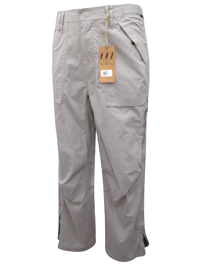 BH5 Mens PEBBLE Cotton Rich Utility Cargo Trousers - Waist Size 32 to 44 (Length 30in-32in)