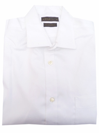 Mens Altinyildiz Collection WHITE Pure Cotton Long Sleeve Shirt with Pocket - Size Medium to 4XL