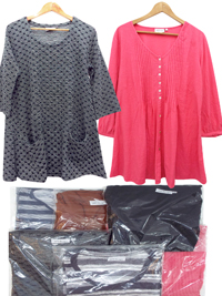 APT Designs ASSORTED Tunic Tops - Size S/M to L/XL