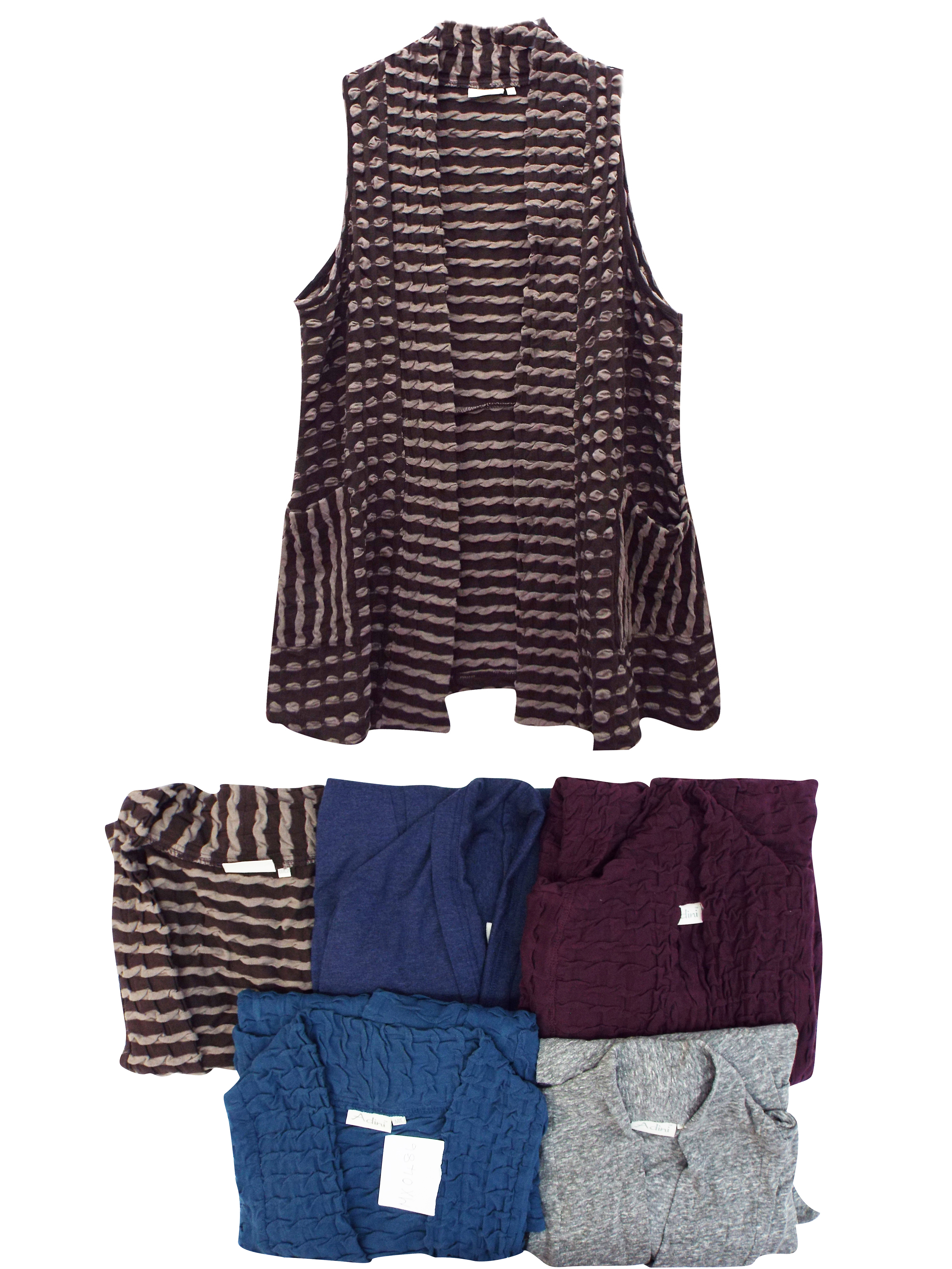 Adini ASSORTED Longline Cardigans - Plus Size 12/14 to 18/20