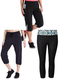 ASSORTED Cropped Sports Joggers - Size 6 to 10
