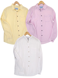 M&5 ASSORTED Pure Cotton Long Sleeve Shirts - Size Small to XLarge