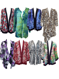 NEW ASSORTED Lot of Trendy Shrugs - Size 10 to 18