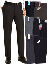 M&5 ASSORTED Mens Trousers - Waist Size 28 to 42 (Length 29in-33in)