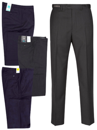 M&5 ASSORTED Mens Trousers - Waist Size 32 to 42 (Length 29in-31in-33in)