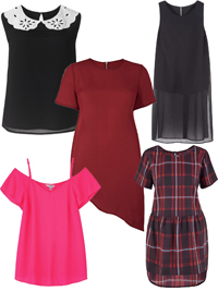 SimplyBe ASSORTED Tops & Tunics - Plus Size 14 to 28