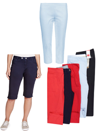 M&5 ASSORTED Cropped Trousers - Size 10 to 18