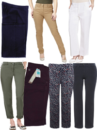 M&5 ASSORTED Ladies Trousers - Size 6 to 22
