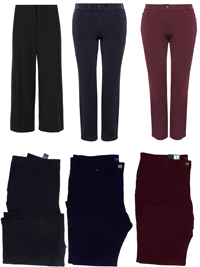 M&5 ASSORTED Ladies Trousers - Size 12 to 18