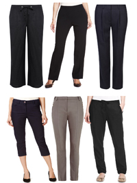 M&5 ASSORTED Ladies Trousers - Size 8 to 18