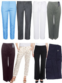 M&5 ASSORTED Ladies Trousers - Size 8 to 22