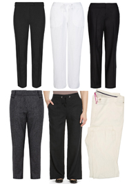 M&5 ASSORTED Ladies Trousers - Size 8 to 24