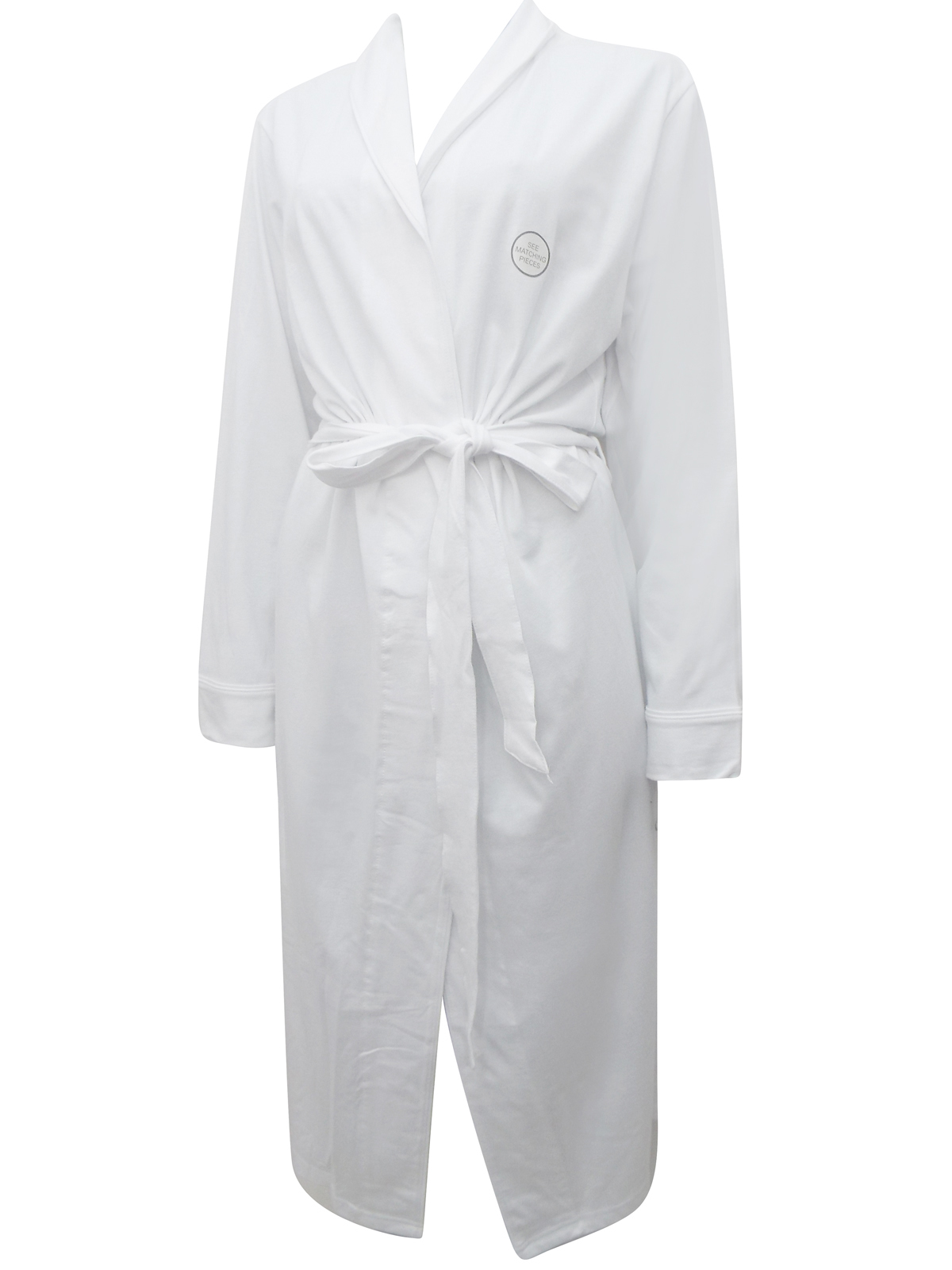 Dunnes WHITE Pure Cotton Crochet Nightdress & Gown - Size 8/10 to 22/24