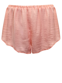 IRREGULAR - AS0S PEACH Crinkle Satin Pyjama Shorts - Size XSmall to Medium