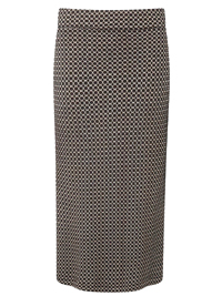 Adini BLACK Camden Weave Bloomsbury Skirt - Size 10 to 18