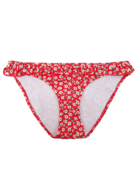 M0NS00N Accessor1ze RED Daisy Frill Bikini Bottoms - Size 6 to 18