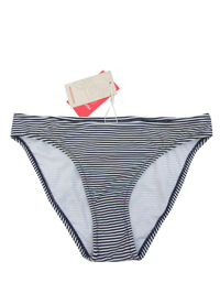 M0nsoon NAVY Striped Bikini Bottoms - Size 8 to 18