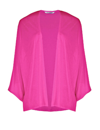 M&5 PINK Open Front Kimono Top - Size 12 to 20
