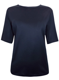M&5 4utograph BLACK Half Sleeve T-Shirt - Size 6 to 22