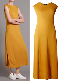 4utograph OCHRE Cap Sleeve Column Dress - Size 6 to 22
