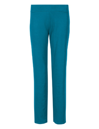 M&5 DARK-TEAL Cotton Rich Straight Leg Joggers - Size 6 to 20
