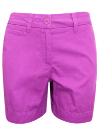 M&5 VIOLET Pure Cotton Chino Shorts - Size 8