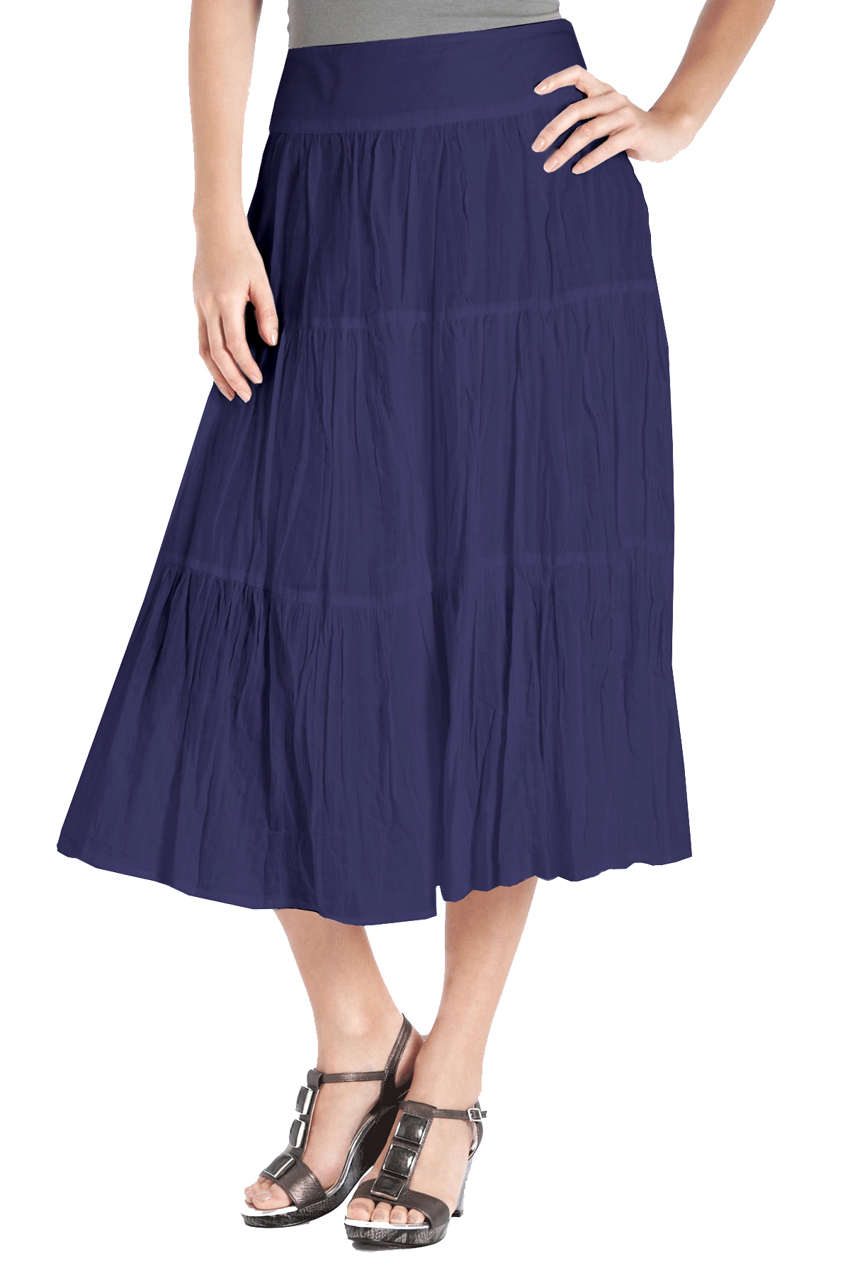 marks and spencer m 5 navy crinkle cotton wide