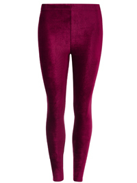 M&5 Collection BERRY Soft Rib Cord Skinny Fit Leggings - Size 8 to 20