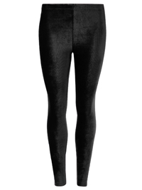 M&5 Collection BLACK Soft Rib Cord Skinny Fit Leggings - Size 8 to 20