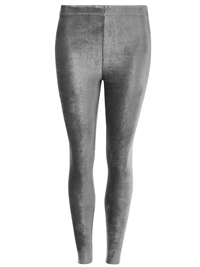 M&5 Collection GREY Soft Rib Cord Skinny Fit Leggings - Size 8 to 20