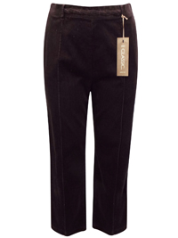 M&5 MINK Cotton Rich Straight Leg Cord Trousers - Size 16 to 22