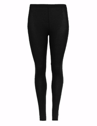 M&5 BLACK Brushed Heatgen Stirrup Leggings - Size 16