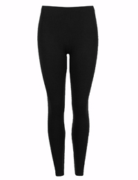 M&5 BLACK Brushed Heatgen Thermal Leggings - Size 6 to 22