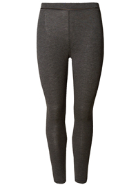 4utograph CHARCOAL Heatgen Thermal Leggings with Cashmere - Size 10 to 22