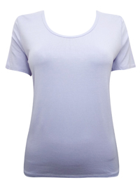 LILAC Short Sleeve Jersey Tee - Size XSmall to XXLarge
