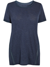 N3XT NAVY Boyfriend Cool Mesh Performance T-Shirt- Size 8 to 22
