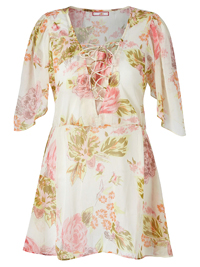 Joe Browns CREAM This Seasons Blouse - Plus Size 14 to 22
