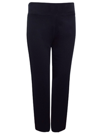 Dunn3s BLACK Cotton Rich Straight Leg Joggers - Size 8 to 20