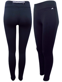 BLACK Pull On Sports Leggings - Size 6 to 18