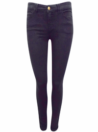Clockhouse BLACK Cotton Rich Skinny Jeans - Size 8 to 16