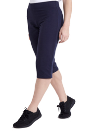 Dunn3s NAVY Cotton Rich Cropped Joggers - Size Small to Large