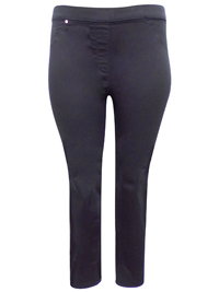 H&M BLACK Skinny Fit Pull On Jeggings - Plus Size 16 to 24