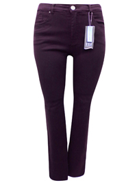 FDJ PLUM Olivia Slim Leg Denim Jeans - Size 8 to 22