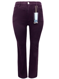 FDJ PLUM Peggy Straight Leg 5-Pocket Denim Jeans - Size 8 to 22